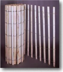 Natural Wood Snow/Sand Fence