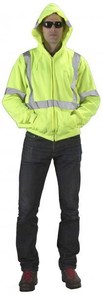 ANSI Class 3 Lime Hoodie