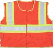 ANSI Orange Mesh Class 2 Vest