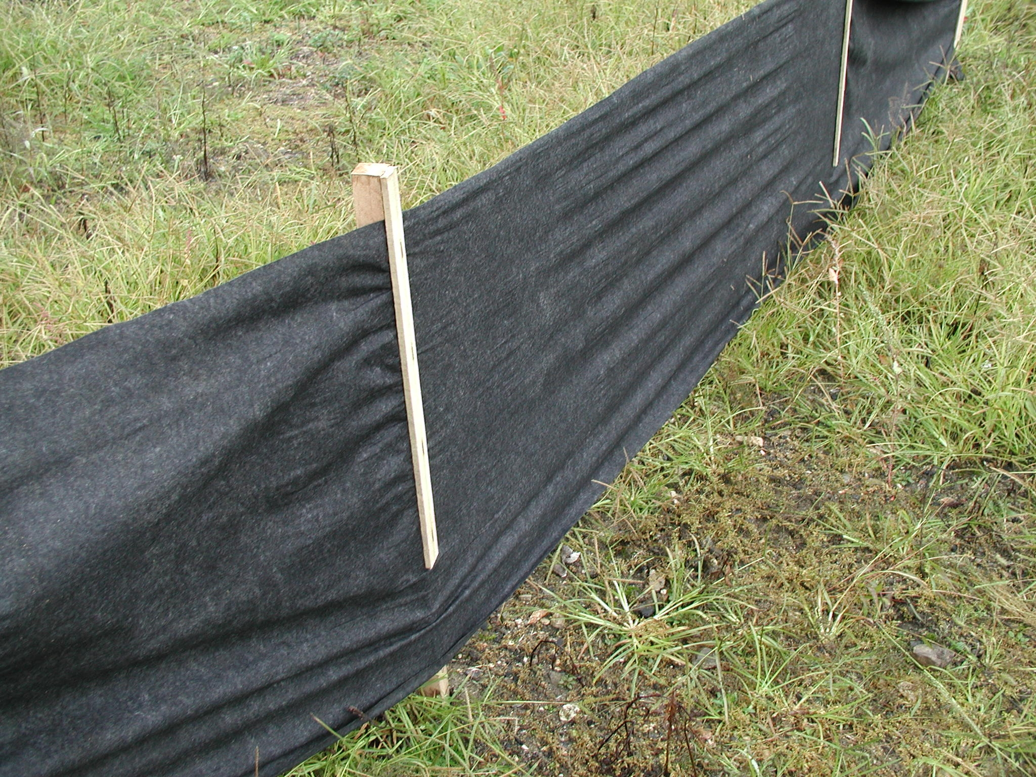 Silt Fence Assembled Flagging Direct